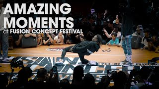 AMAZING MOMENTS At Fusion Concept Festival 2019  .stance