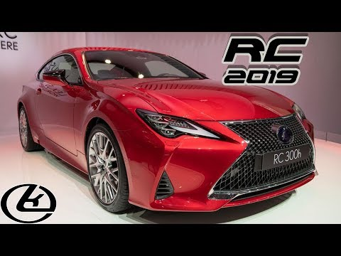 2019 Lexus RC |  New Styling, New Tech, Same Power