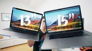 "13"" vs 15"" 2017 Macbook Pro - FULL REVIEW"