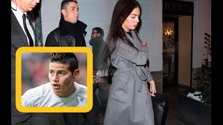Cristiano Ronaldo With Her Girlfriend Georgina Rodriguez