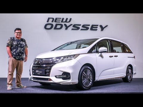 FIRST LOOK: 2018 Honda Odyssey facelift in Malaysia