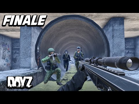 Massive Underground Base Attack! Season 1 Finale DayZ