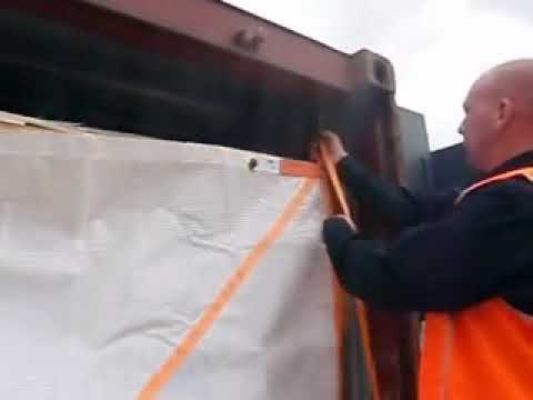 container safety sheet