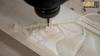 Производство резного декора из массива дерева на ЧПУ станке