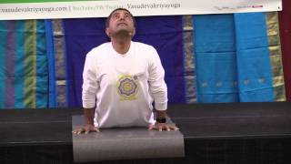 Yoga Demonstration - Bhujangasana for Awakening Energy