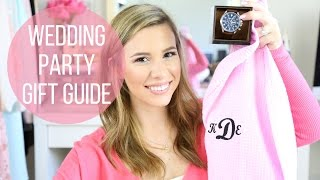 Wedding Party Gift Guide: Bridesmaids, Groomsman, In Laws, Parents, Husband   Hayleypaige