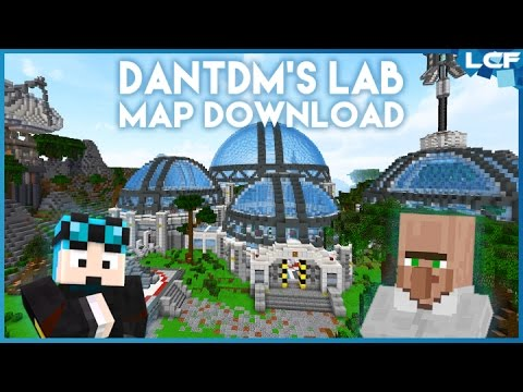 DanTDM's New Lab Map Download (TheLCFPRO) | Link in