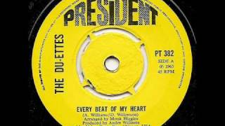 THE DU-ETTES - Every Beat Of My Heart