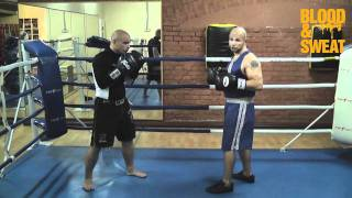 Мастер-класс - атака первым номером. Техника бокса. Игорь Смольянов. Attacking style of boxing.
