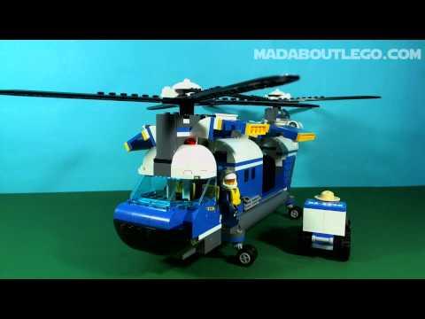 Vidéo LEGO City 4439 : L'hélicoptère de transport