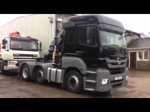2012 MERCEDES 2643 WITH FASSI F215 CRANE