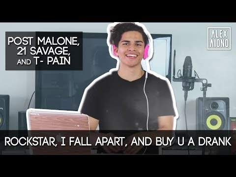 Rockstar / I Fall Apart / Buy U a Drank Mashup