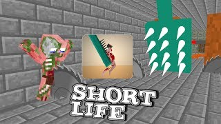 Monster School: SHORT LIFE CHALLENGE - Minecraft Animation