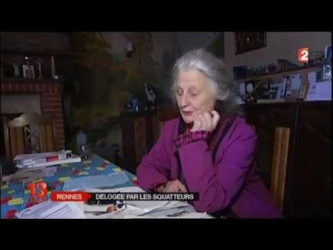 Rennes : Une manifestation pour déloger les squatteurs de chez Maryvonne, 83 ans (MàJ)