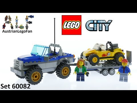 Vidéo LEGO City 60082 : Le buggy des dunes
