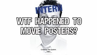 WTF Happened To Movie Posters?