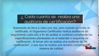 ¿Qué es una auditoria de certificación? por JHM