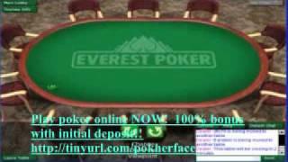 Everest Online Poker Tournament 4/10