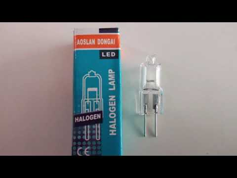 ⭕ G4 - 20W 12V Halogen Light Bulb