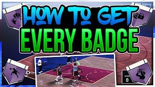 NBA 2K18 Tips: HOW TO GET EVERY BADGE FAST IN NBA 2K18! Unlock ALL Badges For Every Archetype!