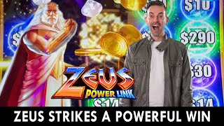 ⚡ Zeus Strikes 3 Lighting Symbols For A Bonus Win ⚡
