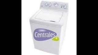 lavadora centrales no centrifuga/ mi lavadora no centrifuga/ mi lavadora se queda con agua