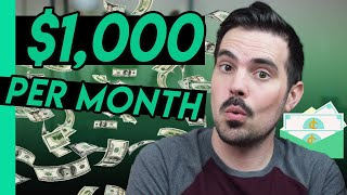 Make $1,000 Per Month in Dividend Income - How Much You Need Invested