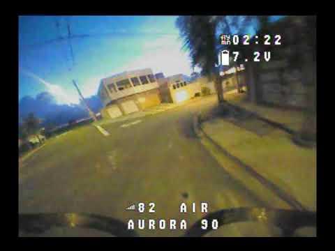 Aurora 90 treino noturno