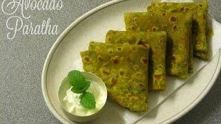 How To Make Avocado Paratha| Avocado Paratha Recipe