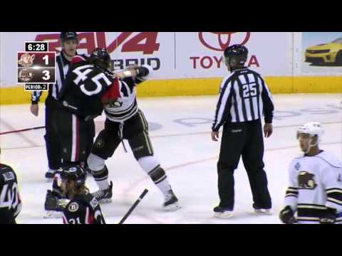 Zack Stortini vs Zach Sill