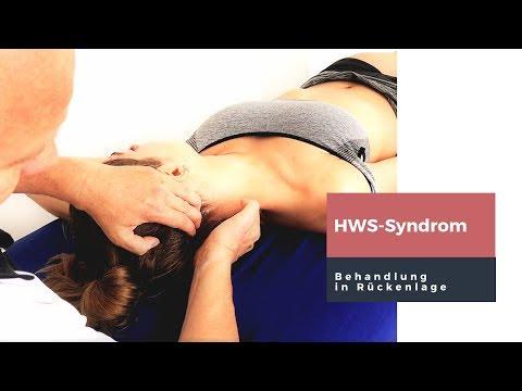 Rechts-Bewegung der Halswirbelsäule