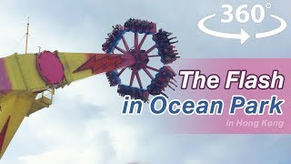The Flash in the Ocean Park in Hong Kong 2018 VR 360 | Video