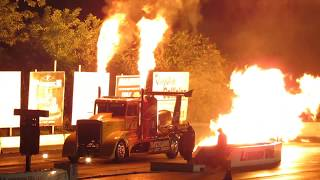 Shockwave Jet Truck - 2017 Night Of Fire at Lebanon Valley Dragway