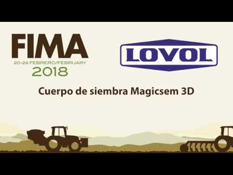 FIMA 2018 NEW TECHNICAL LOVOL TREES PLANTING BODY