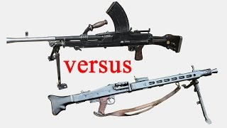 Bren vs Spandau - which was better?