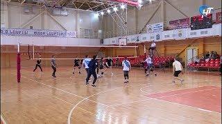 В Великом Новгороде прошел волейбольный матч под девизом «Доверяй, играя»