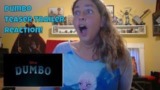Dumbo (2019) Official Teaser Trailer REACTION! | Disney