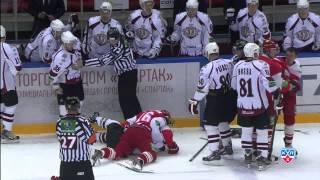 Бодров вершит правосудие  / Bodrov, Szczechura, Wilson & Andersson participate in a brawl