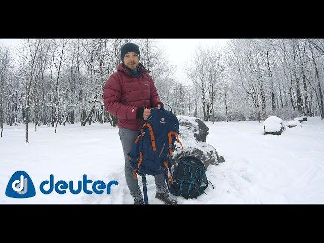 Видео Рюкзак Deuter Freerider Pro 30 цвет 3359 midnight-arctic