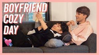 Boyfriends Rainy Day Vlog | Couple Lazy Sunday (SUB)