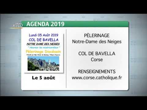 Agenda du 15 juillet 2019