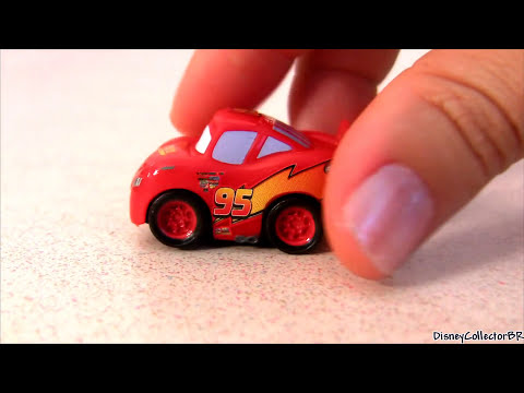 Cars Micro Drifters Disney Pixar Cars 2 Exclusive Lightning McQueen Awesome Disney Toys Collection