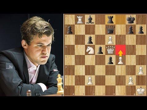 Absolutely Insane! | Carlsen vs MVL || Altibox Norway Blitz (2019)