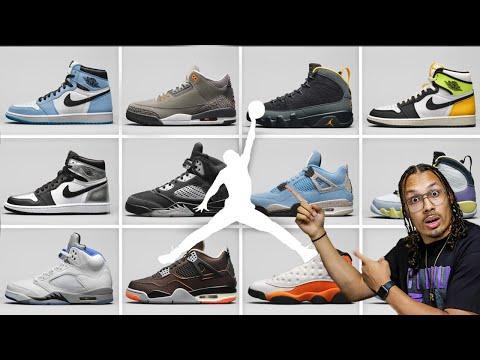 Air Jordan Spring 2021 Sneaker Release Update