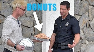 COP PRANKED with DONUT MAGIC TRICK!!! | Kholo.pk