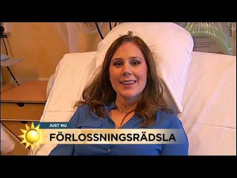 Maria blir kvitt sin förlossningsrädsla - Nyhetsmorgon (TV4)