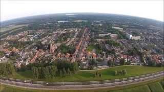 Waalwijk noord-oost uit de lucht