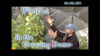Winter in the Growing Dome® Greenhouse