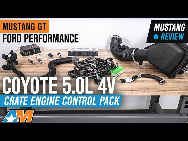 Ford Performance Coyote 5 0L 4V Crate Engine Control Pack (11-14 GT w/  Manual Transmission)