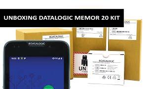 Unboxing the Datalogic Memor 20 Kit the Best Handheld Computer on the Market!